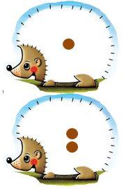 Egels 1 en 2 Craft Activities, Toddler Activities, Montessori Math, Preschool Education, Autumn Crafts, Math Numbers, School Themes, Pre School, Elementary Schools