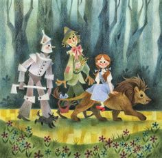 Genevieve Godbout illustration - Wizard of Oz