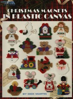 Free Plastic Canvas Books   Plastic Canvas Patterns & Kits – Cross Stitch, Needlepoint, Rubber