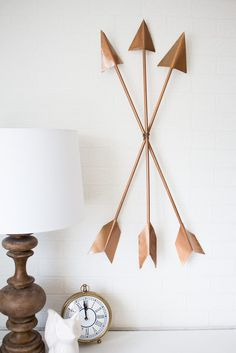 DIY Arrow Wall Art