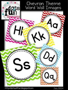 FREE This set is CLIP ART! Each letter card is an actual image that you can use in so many ways. You have the freedom to resize the image to meet the needs of your classroom. This set is perfect for summer resources! (XYZ are on one Classroom Labels, Classroom Organisation, Classroom Displays, Classroom Themes, Organization, Miss Kindergarten, Kindergarten Classroom, Chevron Letter, Chevron Classroom