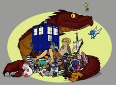 Dragon Hoard of Geekiness- lots of fandoms