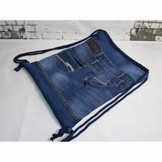 Hombre Hair, Diy Old Jeans, Good Hair Day, Denim Bag, Upcycle, Cool Hairstyles, Style Inspiration, Purses, Sewing