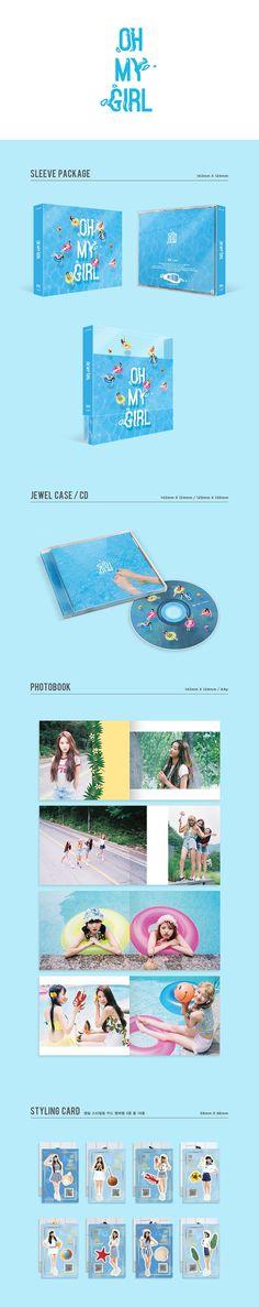OH MY GIRL (오마이걸) Summer Special Album (édition coréenne) (Poster offert*) - Asiaworldmusic.fr - Site de vente en ligne des magasins MUSICA