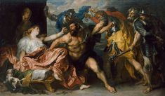Anton van Dyck - Samson and Delilah - Google Art Project - Anthony van Dyck - Wikipedia, the free encyclopedia
