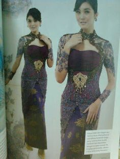 Kebaya Modern And Traditional Wedding Gowns Clothes Part 6