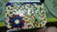 The almost completed project but was abandoned as I was lacked of tiles.