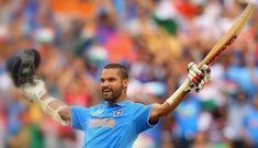 Shikhar Dhawan slammed his One-Day hundred against South Africa in 2015 ICC world cup. He made 137 which is highest score against Proteas in world cup. Icc Cricket, Cricket Sport, India In World, 2015 Cricket World Cup, Tri Series, Photo Ed, One Day International, Shikhar Dhawan, Champions Trophy