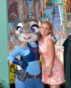 With officer Judy Hopps! #Zootopia