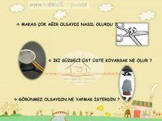 çocuklarda scamper yöntemi nasıl uygulanır (3) School Teacher, Primary School, Pre School, Turkish Lessons, Time Kids, Creative Thinking, Montessori, Activities, Education