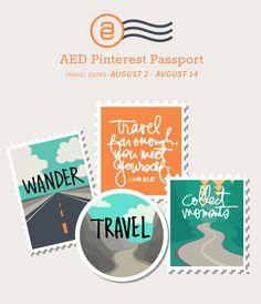 Ali Edwards Design Inc.   AED Pinterest Passport 2017