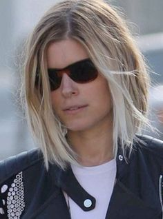 Kate Mara Blonde Ombre--if i don't want to fully commit. But I find ombre....ugly. :-O