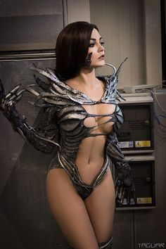 """kamikame-cosplay: ""WitchBlade Cosplayer: instagram.com/fink_fink_fink Photographer: Yaguar Photography "" Sara Pezzini cosplay, a.k.a. Witchblade, from Image comics. """