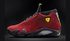 """size 40 e9b25 49f5a New Release Air Jordan 14 """"Red Suede"""" Sneakers For Fall 2014. Jordan 14"""