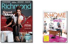Richmond Magazine, the Richmond Symphony of Trees media sponsor-many thanks!