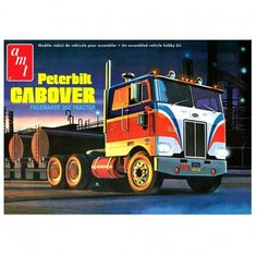 108 best scale model kits images on pinterest scale models model peterbilt 352 pacemaker coe tractor truck model kit 3895 125 scale amt plastic publicscrutiny