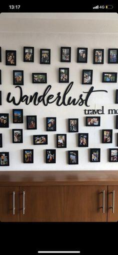Wanderlust Travel, Photo Wall, Home Decor, Homemade Home Decor, Photography, Wanderlust, Decoration Home, Interior Decorating