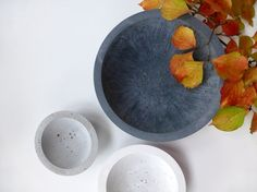 Hey, I found this really awesome Etsy listing at https://www.etsy.com/il-en/listing/211130365/concrete-bowls
