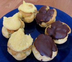 Cocoa puffs and cream puffs from Liliha Bakery  Liliha Bakery  515 N. Kuakini Street  Honolulu, HI  (808) 531-1651