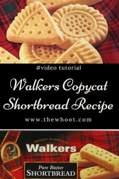 Copycat Walkers Shortbread Recipe 3 Ingredients We have the Copycat Walkers Shortbread Recipe and it tastes every bit as good as the original. Are you excited? You only need 3 simple ingredients . Walkers Shortbread Cookies, Easy Shortbread Cookie Recipe, Butter Shortbread Cookies, Scottish Shortbread Cookies, Shortbread Recipes, Buttery Cookies, Biscuit Cookies, Keto Cookies, Biscuit Recipe