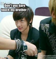 This is a lot funnier than it should be... - KwangMin & YoungMin