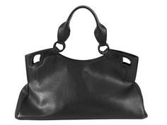 BAG, CARTIER, Marcello, black leather, embossed details, 44x24x13 cm, dustbag. #bag #cartier #marcello