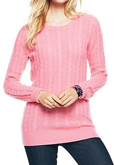 cashmere cable knit crew neck sweater http://rstyle.me/n/tmcb6pdpe