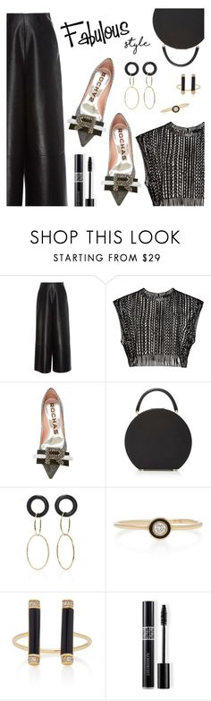 """Fabulous style"" by dressedbyrose ❤ liked on Polyvore featuring Lanvin, Rochas, BUwood, Mateo, Sydney Evan, Christian Dior, ootd, classy and polyvoreeditorial"