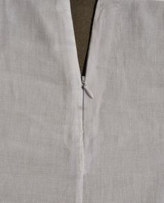 Tutorial: Install an invisible zipper in a French seam