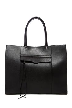 Rebecca Minkoff - Large Mab Oil Malaga Leather Tote at Nordstrom Rack. Free Shipping on orders over $100.