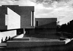 Science Building, Amherst College, Amherst, Massachusetts, 1960s