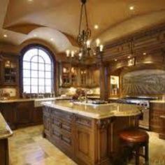 I need a big kitchen.