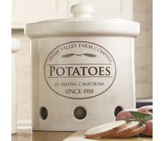 Shop CHEFS Fresh Valley Canisters at CHEFS.  I have got to have these!