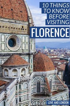 10 Things to Know Before Visiting Florence. This guide tells you top tips for your visit to Florence, including how to get from the airport to Florence, what types of Florence specialties to eat, and more. Free Things To Do, Things To Know, Renaissance And Reformation, Week End En Amoureux, Regions Of Italy, Travel Destinations, Travel Tips, Budget Travel, Travel Ideas