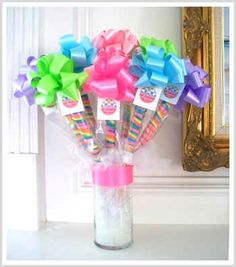 Great for candy themed Bat Mitzvah!