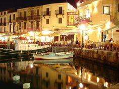 Rethymnon Harbour, Crete, #Greece