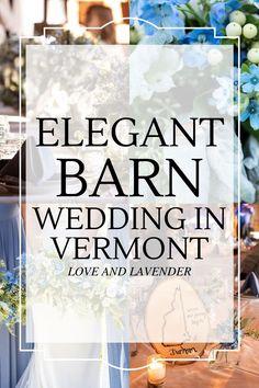 Real Weddings | KRISTEN & KEVIN | Elegant Barn Wedding in Vermont | Cat Cutillo Photography & Video - Love & Lavender - Love & Lavender