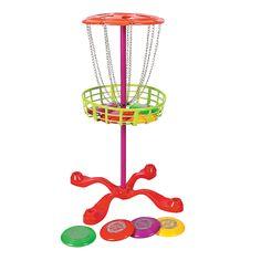 Flying Disc Golf Set - OrientalTrading.com