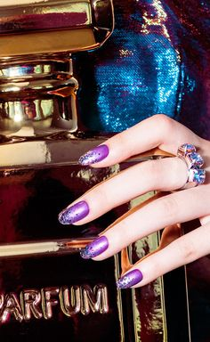 Rock 'N' Royalty, nail lacquer, glitter, metallic