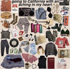 more like im in california with a aching heart