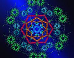 Une forme naît ! a form is born ! uma forma nasce ! Mandala de Pierre Vermersch Digital Drawings