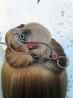 Hey, I found this really awesome Etsy listing at https://www.etsy.com/listing/524196068/large-red-hair-barrette-copper-hair