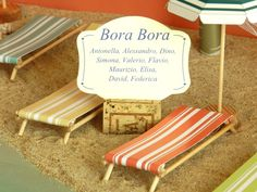 "3d table plan, ""Beaches of the world"" model, ""Bora Bora"" table"