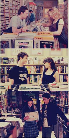 """And if you ever get lonely, just go to the record store and visit your friends."""