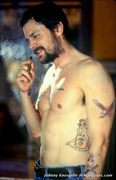 Johnny Knoxville ....