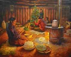 """""""Family Holiday Evening """" by Navajo James King"""