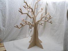 Wisdom of the Moon - DIY necklace tree Phillips-Barton Heller Diy Necklace Tree, Kirigami, Cardboard Tree, Craft Show Displays, Display Ideas, Diy Papier, Paper Crafts, Diy Crafts, Glitter Houses