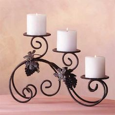 candle stick holder | because candle holders will be holding candles you should take into ...