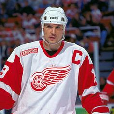 Yzerman..my favorite Red Wing of all time