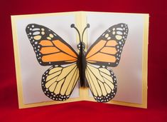 My grandson loves butterflies. He should be thrilled with this card. The pop-up butterfly is from  Jennifer Maker - https://jennifermaker.com/free-svg-cut-files-best/ - Provides Freebies This was an easy card to assemble.